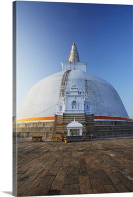 Ruvanvelisaya Dagoba, Anuradhapura, North Central Province, Sri Lanka