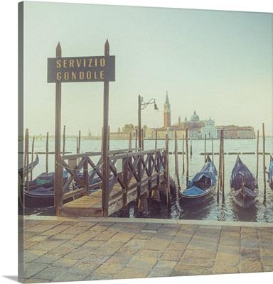 San Giorgio Maggiore, Piazza San Marco, Venice, Veneto, Italy