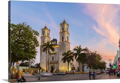 San Servacio Cathedral, Valladolid, Yucatan, Mexico