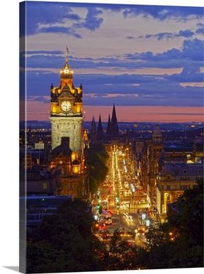 Scotland, Lothian, Edinburgh, Calton Hill