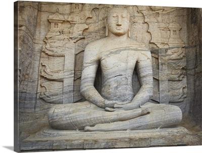 Seated Buddha, Gal Vihara, Polonnaruwa North Central Province, Sri Lanka