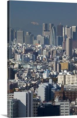 Shinjuku skyline, Tokyo, Japan
