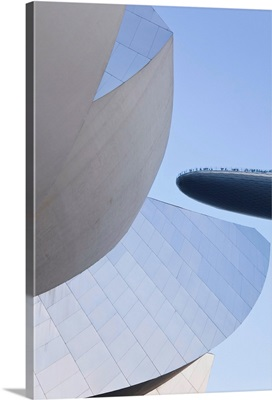Singapore, Art Science Museum and Marina Bay Sands Skydeck, Marina Bay
