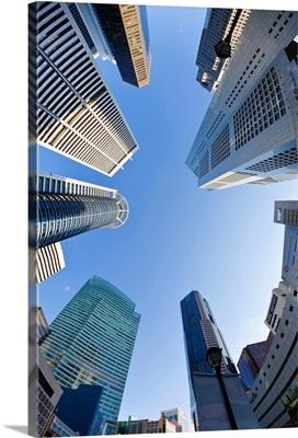 Singapore, CBD, Financial Centre Office Buildings