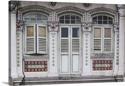 Singapore, traditional shophouse architecture