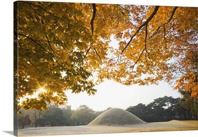 South Korea, Gyeongju, Royal Tomb of King Naemul of Silla
