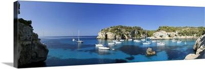 Spain, Balearic Islands, Menorca, Cala Macarella Beach