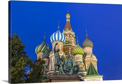 St Basils Cathedral in Red Square, Moscow, Russia