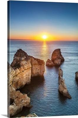 Sunrise, Ponta de Piedade, Lagos, Algarve, Portugal