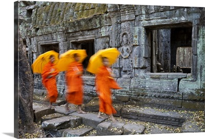 Ta Phrohm Temple, Angkor Wat, Siem Reap, Cambodia