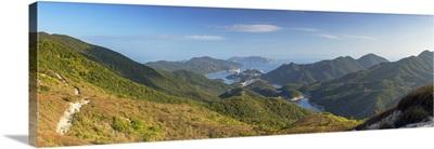 Tai Tam Reservoir And Hiking Trail On Hong Kong Island, Hong Kong
