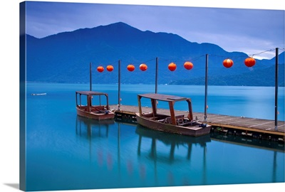Taiwan, Nantou, Hanbi Peninsula, Late President Chiang Kai-Shek's private wharf