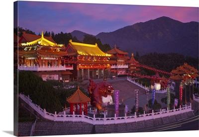 Taiwan, Nantou, Sun Moon Lake,  Wenwu Temple