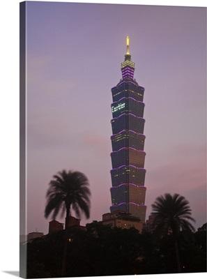 Taiwan, Taipei, Taipei 101, World's tallest building