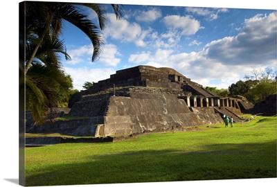 Tazumal Mayan Ruins, El Salvador, Main Pyramid, Pre-Colombian
