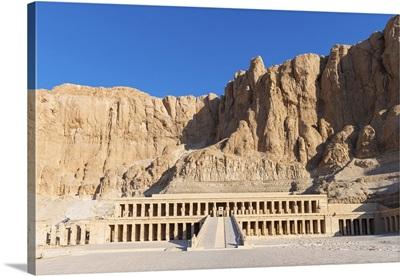 Temple Of Deir Al-Bahri (Queen Hatshepsut's Temple),  Luxor, Egypt