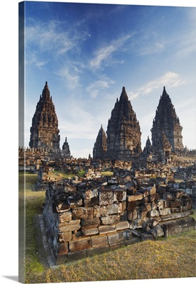 Temples at Prambanan complex, Java, Indonesia