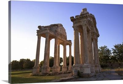 Tetrapylon, Aphrodisias, Turkey