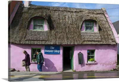 Thatched Handycrafts Store, Doolin, Co Clare, Ireland