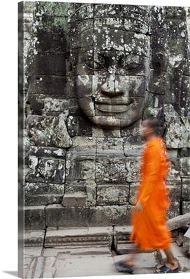 The Bayon Temple, Angkor Wat, Siem Reap, Cambodia