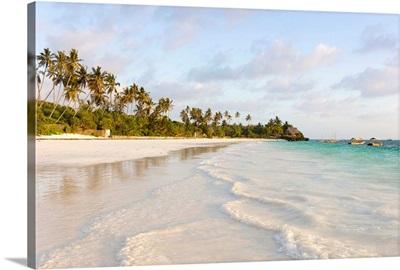 The Beach By The Blue And Green Ocean Lodge, Matemwe, Zanzibar, Tanzania