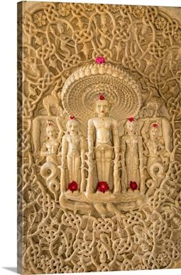 The Deity Of Parshwanath, Jain Temple At Ranakpur, Rajasthan, India