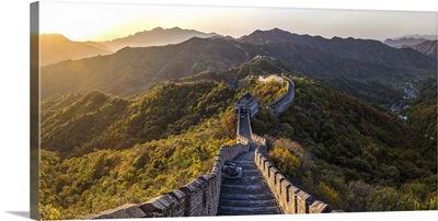 The Great Wall at Mutianyu nr Beijing in Hebei Province, China