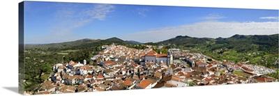 The historical village of Castelo de Vide. Alentejo, Portugal