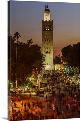 The Koutoubia Mosque or Kutubiyya Mosque is the largest mosque in Marrakesh