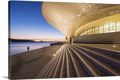 The MAAT, bordering the Tagus river, Lisbon, Portugal Myanmar