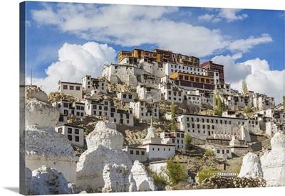 Thikse monastery, Thikse, Ladakh, India