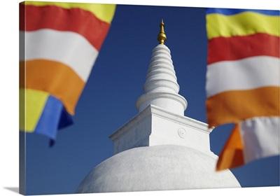 Thuparama Dagoba, Anuradhapura, North Central Province, Sri Lanka