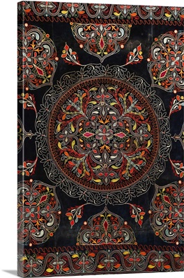 Traditional Azerbaijani Carpet, Azerbaijan National Carpet Museum, Baku, Azerbaijan