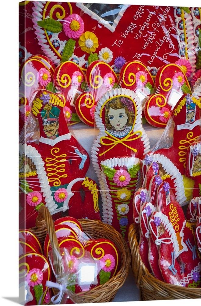 Hungarian Christmas Traditions.Traditional Hungarian Christmas Gingerbread Budapest Hungary
