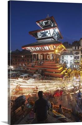 Trailokya Mohan Narayan Temple, Durbar Square Kathmandu, Nepal