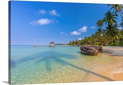 Tropical Beach On An Island Nr Ko Chang, Thailand