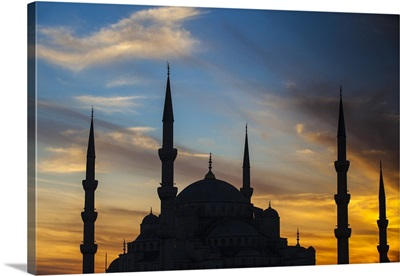 Turkey, Istanbul, Sultanahmet, Blue Mosque - Sultan Ahmed Mosque