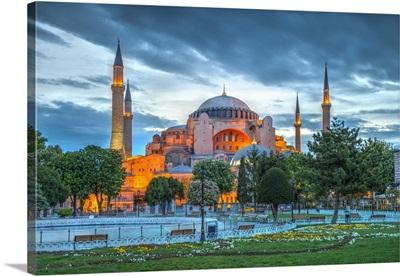 Turkey, Istanbul, Sultanahmet, Hagia Sophia