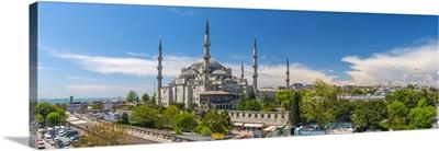 Turkey, Istanbul, Sultanahmet, The Blue Mosque