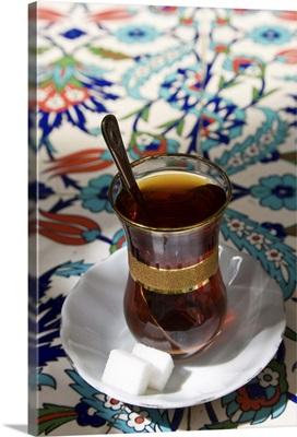 Turkish tea, Istanbul, Turkey
