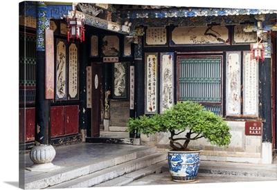 Typical architecture of the Zhu Family Garden, Jianshui County, Yunnan, China