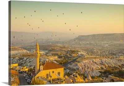 Uchisar, Near Goreme, Cappadocia, Nevsehir Province, Central Anatolia, Turkey