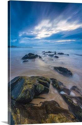 UK, Scotland, Argyll and Bute, Islay, Saligo Bay