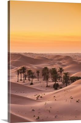 United Arab Emirates, Abu Dhabi, Al Ain, Remah Desert, Telal Resort Heritage Village