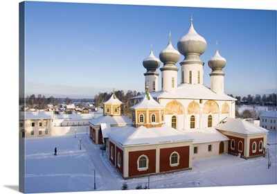 Uspensky Cathedral, Bogorodichno-Uspenskij Monastery, Russia