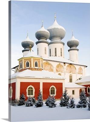Uspensky Cathedral, Bogorodichno-Uspenskij Monastery, Tikhvin, Leningrad region, Russia