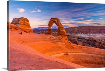 Utah, Moab, Arches National Park, Delicate Arch