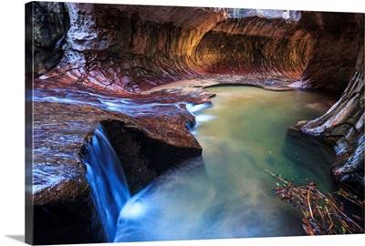 Utah, Zion Canyon National Park, The Subway