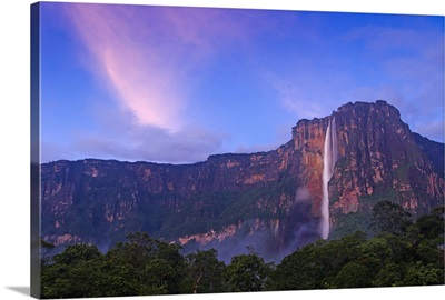 Venezuela, Guayana, Canaima National Park, Angel Falls