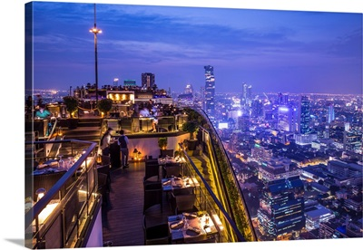 Vertigo Bar, Banyan Tree Hotel, Sathorn, Bangkok, Thailand